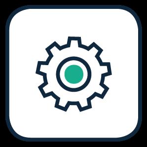 Icon Individualentwicklung Schnittstelle