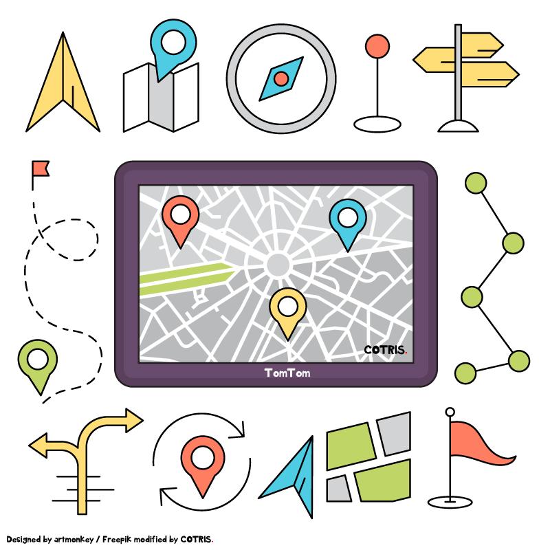 Die Erfahrung von Mitarbeitern speichern – Wegpunktenavigation mit TomTom Telematics