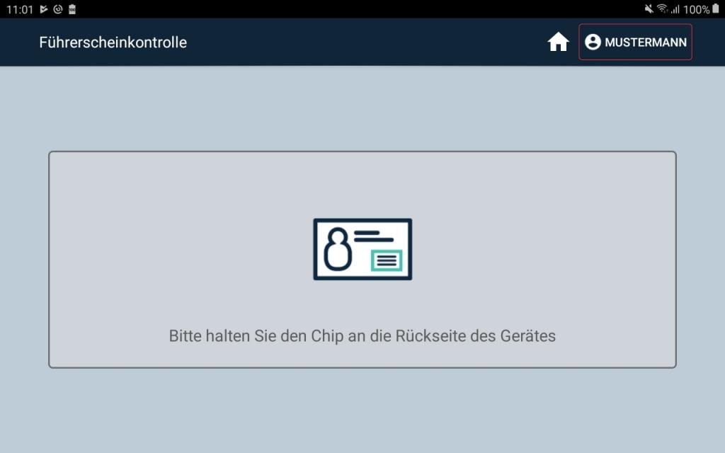 Führerscheinkontrolle App